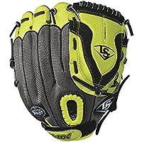 Louisville Slugger–Set Diva Softball guantes - WTLDVLF1711, plateado (Silver/Hyper)