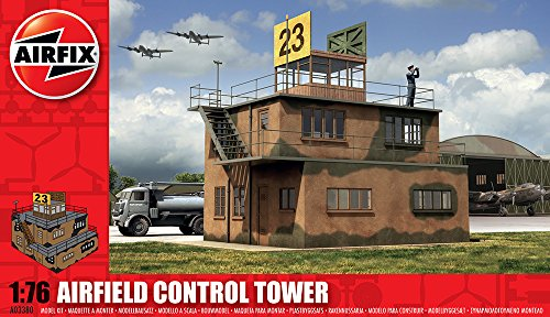 airfix-a03380-raf-control-tower-176-scale-series-3-plastic-diorama-model-kit