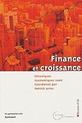 Chroniques économiques : Finance et croissance
