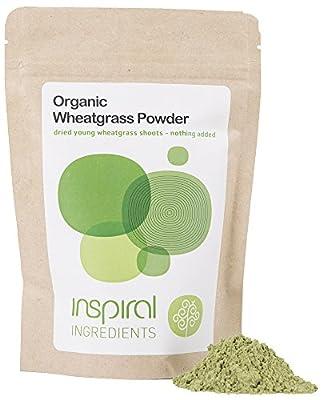 inSpiral Organic Wheatgrass Green Powder 100 g