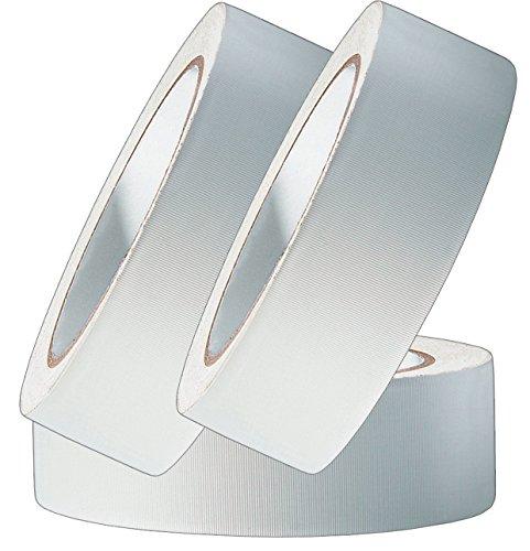 3 Rollen Profi PVC Putzband 33m gerillt 30mm weiß Bautenschutzband Schutzband Klebeband