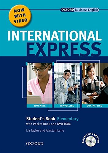 International Express: Elementary: Student's Pack: (Student's Book, Pocket Book & DVD) by Liz Taylor (2010-06-17)