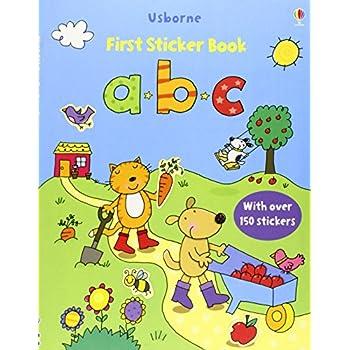 Abc Sticker Book. Con Adesivi