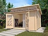 weka Gartenhaus 158 Gr.2, 28 mm, mit 4 Oberlichtern