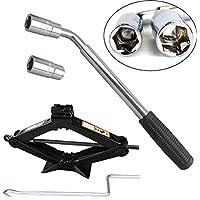 cric voiture cl s en croix outils pour pneus et roues auto et moto. Black Bedroom Furniture Sets. Home Design Ideas