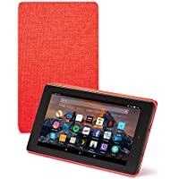 "Amazon Fire 7 Case (7"" Tablet, 7th Generation – 2017 release), Red"