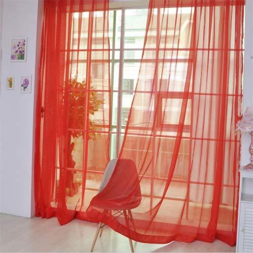 Tende Da Porta Finestra.Afut Tenda Da Porta Finestra In Voile Colorato In Tinta Unita