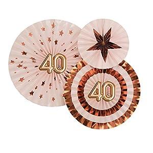 Neviti 773772Glitz y Glamour edad 40verde, rosa/oro rosa