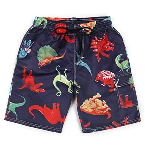 r Strandhose Kinderbekleidung Große Shorts mit 3D-Druck A4 S ()