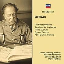 """Beethoven : Les 9 Symphonies - Ouvertures Fidelio, Egmont, König Stephan (""""Le Roi Étienne"""")"""
