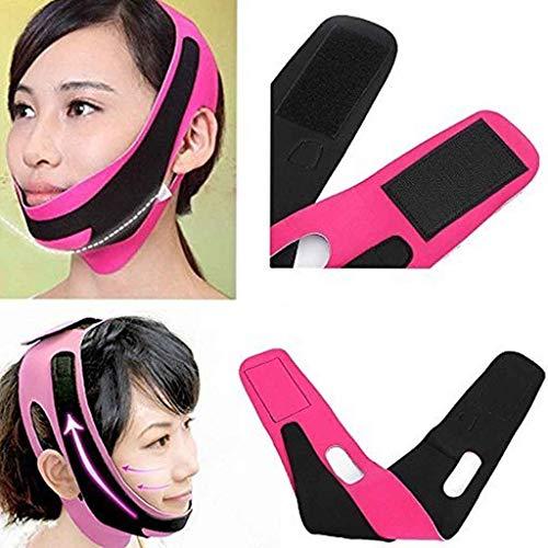 Face-Lifting-Gurt V-Linea Gesicht Wange Kinn Liftup Gestaltung Miederhose Gürtel Schlaf Gürtel Anti-Falten Gesicht Maske Gürtel - Gesichts-haut-anheben Haut, Face Lifting
