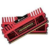 Corsair CMZ8GX3M2A2133C11R Vengeance 8GB (2x4GB) DDR3 2133 Mhz CL11 XMP Performance Desktop Memory Kit Red