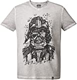GOZOO Star Wars T-Shirt Herren Darth Vader pencraft Oil Dye XXL