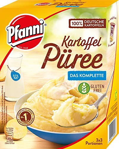 Pfanni Kartoffelpüree mit entrahmter Milch,7 x 3x3 Portionen (7 x 1500ml)