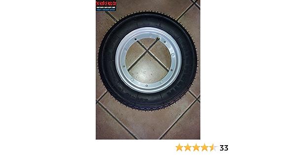 2 Räder Komplett Montiert Für Vespa Px 125 150 200 Mit 2 Felgen 2 Reifen Michelin S83 Dot 2016 Größe 3 50 R10 2 Schläuche Auto