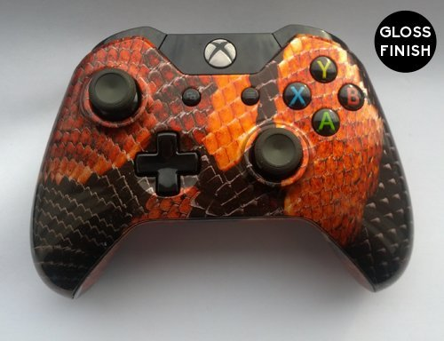 Custom Snakeskin Xbox One Controller