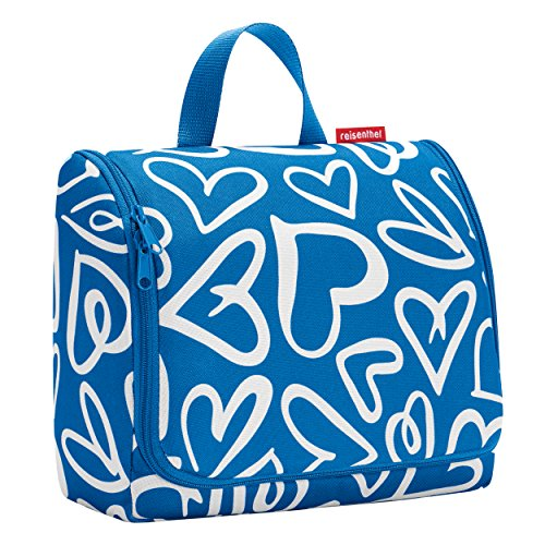 Reisenthel Extra Large Hanging Wash Bag - Funky Hearts