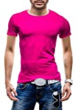 STEGOL Men's T-Shirt Figure-Hugging Short Sleeve AK999