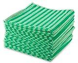 MJ Texpia setole in microfibra asciugamani, Green, 10