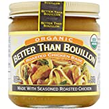 Better Than Bouillon Better Than Boullion Organic Chicken Base 8 Ounce Jar Pack Of 3