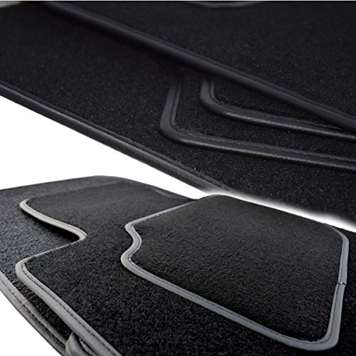 Velours Fußmatten Set VIP individuell gefertigt für Movano A 1998-2010 nur erste Reihe (1+1). Dicke 5 mm, Serie Q100, in 5 Farben (Beige, Graphit, Schwarz, Blau, Grau) -