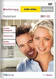 Das Telefonbuch und GelbeSeiten Deutschland Map&Route Frühjahr/Sommer 2011