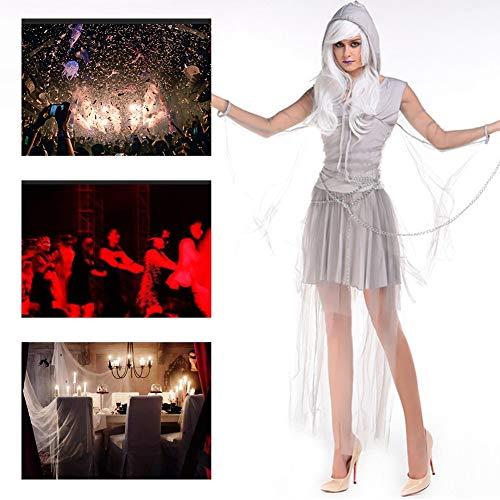 JH&MM Halloween-Kostüm-Frauen-Weibliches Zombie-Geist-Teufel-Kleid Stellte Cosplay Maskerade-Kostüm EIN (Weibliche Sheriff Kostüm)