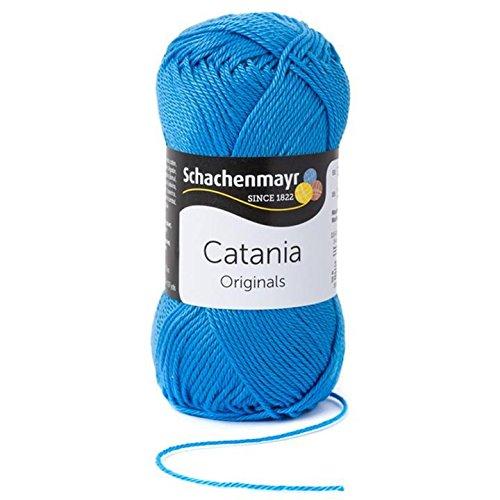 Schachenmayr  Catania 9801210-00384 capri Handstrickgarn, Häkelgarn, Baumwolle (Capris Baumwolle)