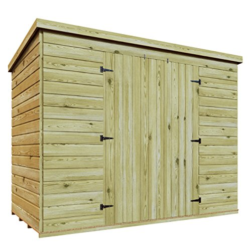 8 x 5 Wooden Pressure Treated Do...