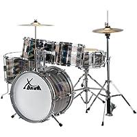 XDrum Junior Pro - Set de batería, color plata