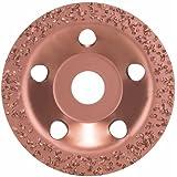 Bosch 2 608 600 175  - Vaso de amolar de metal duro - 115 x 22,23 mm; grob, flach (pack de 1)