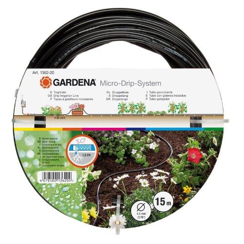 Gardena 1362-20 Micro-Drip-System Tropfrohr oberirdisch 4,6 mm (3/16