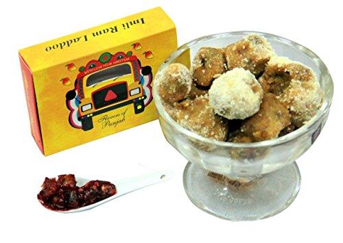 Amritsari Ampapar Imli Ram Ladoo Dusted with Powder Sugar. ( Pack of 1 )