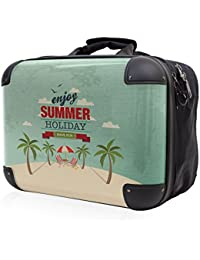 HAUPTSTADTKOFFER® STYLE · Sac à bandoulière · COQUE FRONTALE TRANSPARENTE · DESSIN INTERCHANGEABLE (Rétro Summer Holidays)