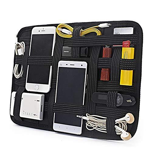 Justdolife Elektronik Organisator Brett Elastische Reise Gadget Tasche Elektronik Organisator