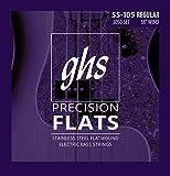 GHS 305045–105medim Lange Mensur Bass flach Wound Saite Set
