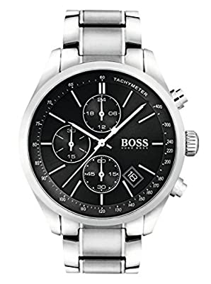 HUGO BOSS Men's Analogue Quartz Watch with Leather Strap - 1513477