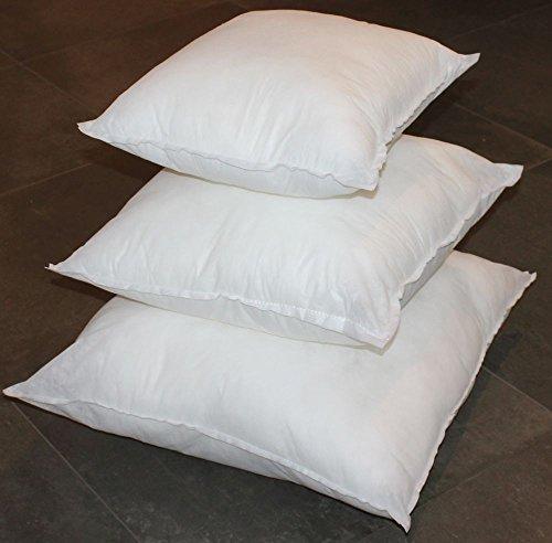 Imbottitura per cuscini arredo 50 x 50 cm top quality indeformabile cuscino
