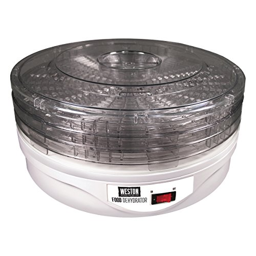 Weston 75-0601 Food Dehydrator, 4-Tray