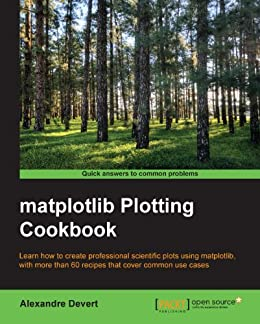matplotlib Plotting Cookbook by [Devert, Alexandre]