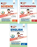 #3: Olympiad Champs Science, Mathematics, English Class 2 with Past Questions (Set of 3 Books)