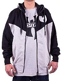 Wu Wear - Wu Tang Clan - Wu Symbol 2 Tone Hooded Zipper - Wu-Tang Clan Tamaño L, Color asignado Grey