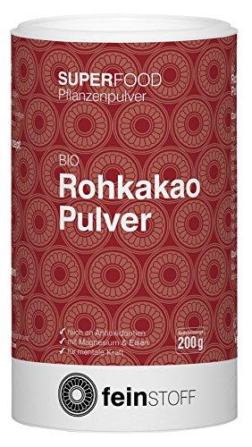 Feinstoff Bio Rohkakao-Pulver, 200 g