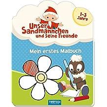 Malset Pittiplatsch mit Farbpalette 1 Malbuch mit Wasserfarben und Pinseln Stück Malbücher für Kinder Mal- & Zeichenmaterialien für Kinder