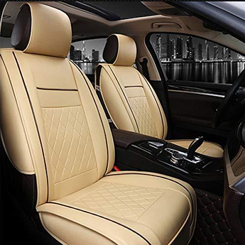 CNANOO Coprisedile in Pelle Universale per Toyota Camry Corolla Yaris Auris Rav4 Wish Land Cruiser fortuner Prius Crown Tutti i Mo