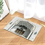 Best Black Diamond Shower Tiles - fuhuaxi Euroe style bathroom floor tile ivory white Review