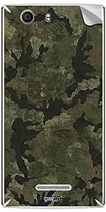 GsmKart MCN2 Mobile Skin for MIcromax Canvas Nitro 2 (Green, Canvas Nitro 2-401)