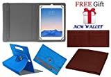 Acm Designer Rotating Case For Apple Ipad Air 2 Stand Cover Dark Blue