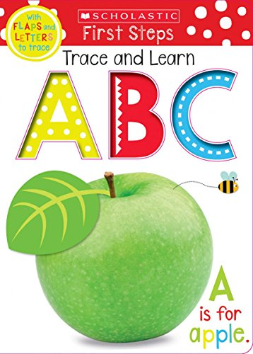 Trace, Lift, and Learn ABC (Scholastic Early Learners) (Scholastic First Steps) por Scholastic