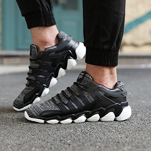 Calzature & Accessori neri con allacciatura elasticizzata per uomo Ageemi Shoes JCpbd